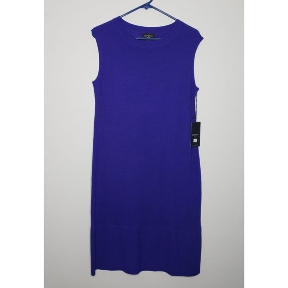 Rondina Dresses & Skirts - NWT SZ Large Rondina Blue Sleeveless Dress